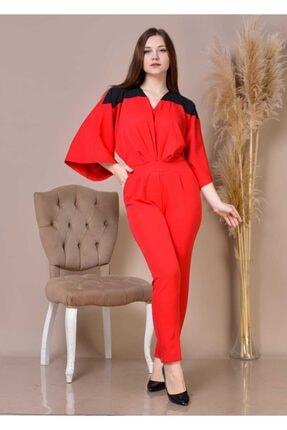 تولوم زنانه تابستانی برند miss polivana رنگ قرمز ty114868578