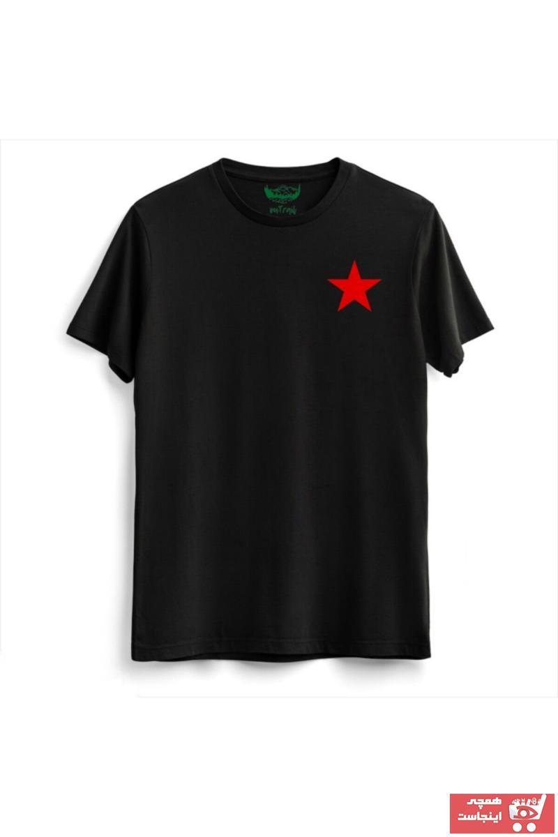 سفارش نقدی تیشرت ورزشی زنانه برند Outrail رنگ مشکی کد ty118802349