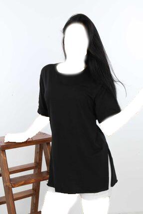 تونیک زنانه ارزان قیمت برند SHOPPİNG GO رنگ مشکی کد ty119168732