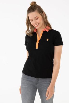 تیشرت زنانه نگیندار برند U.S. Polo Assn. رنگ مشکی کد ty123501317