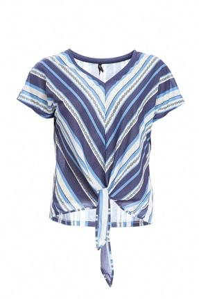 خرید اینترنتی تیشرت شلوار زنانه برند دفاکتو ترکیه رنگ لاجوردی کد ty38560810