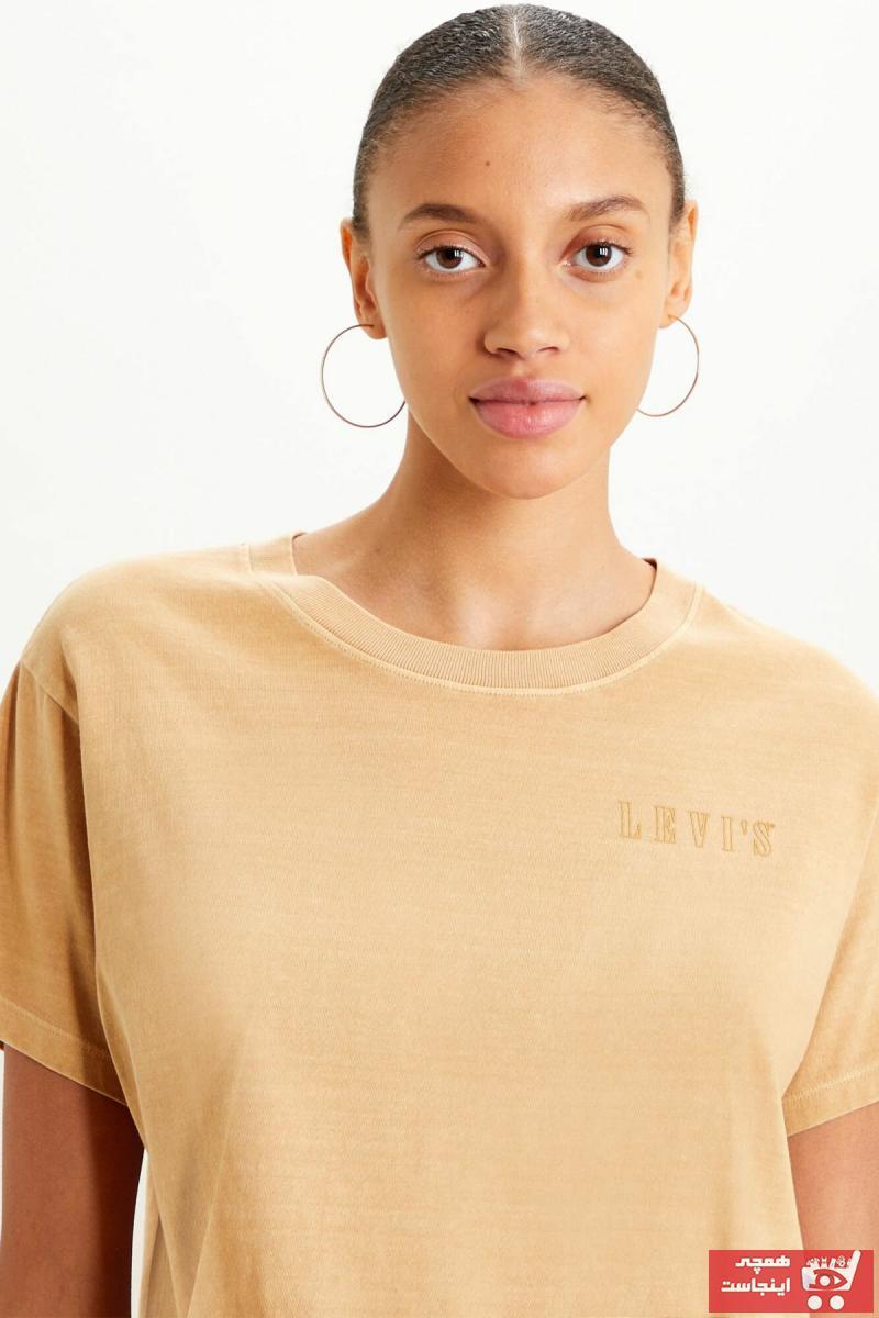 تی شرت زنانه اینترنتی برند لیوایز کد ty93511130