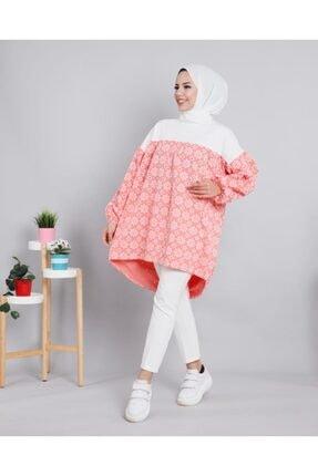 خرید نقدی تونیک زنانه برند Kaftan Giyim رنگ صورتی ty99772765