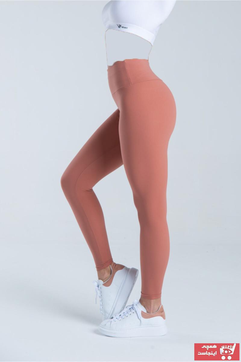 خرید اسان لگ ورزشی زنانه پیاده روی جدید برند Vienfit رنگ صورتی ty108108744