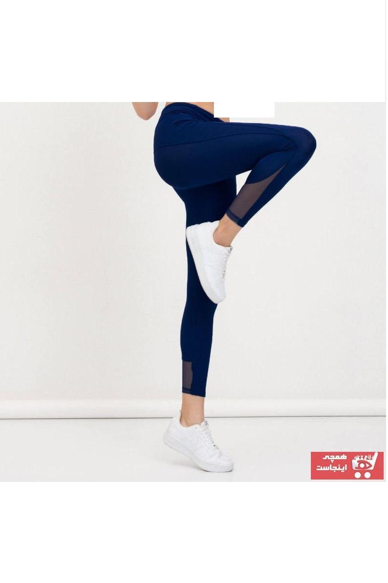 خرید پساپورتی ساپورت ورزشی زنانه پارچه نخی برند Mossta رنگ لاجوردی کد ty90327462