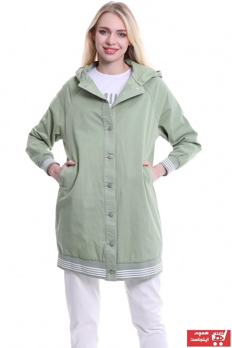 فروش پستی تونیک زنانه شیک جدید برند modasemingiyim رنگ سبز کد ty102741192