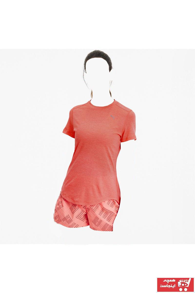 سفارش انلاین تیشرت ورزشی ساده برند پوما رنگ نارنجی کد ty36549126