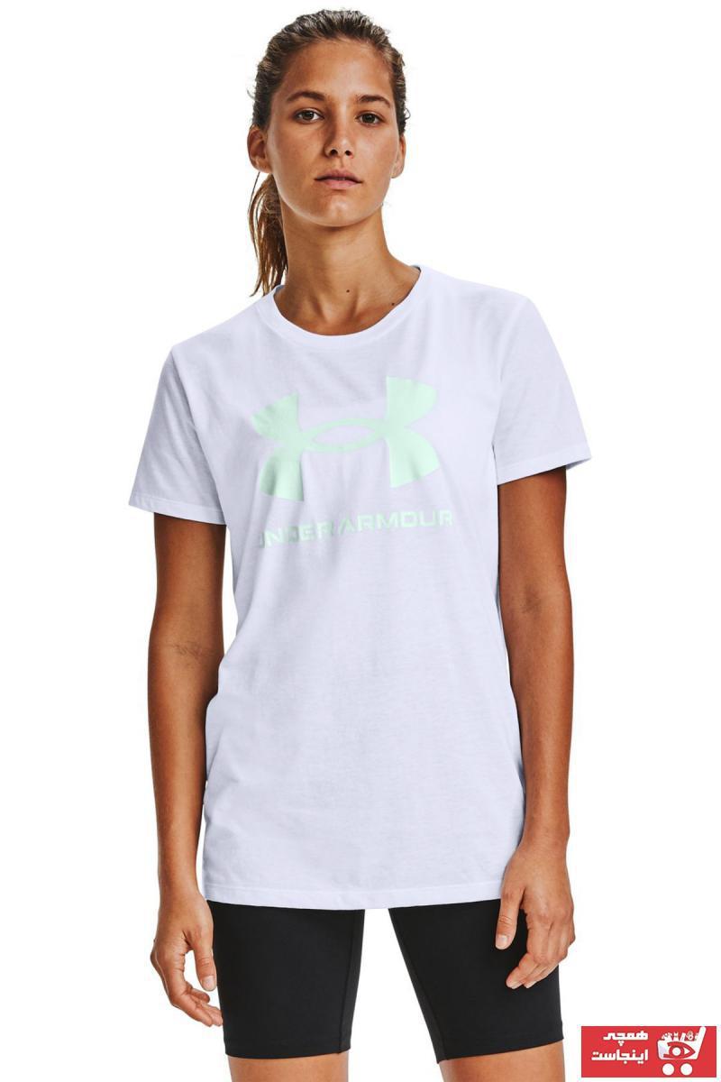 خرید انلاین تیشرت ورزشی زنانه ترکیه برند Under Armour کد ty51655259