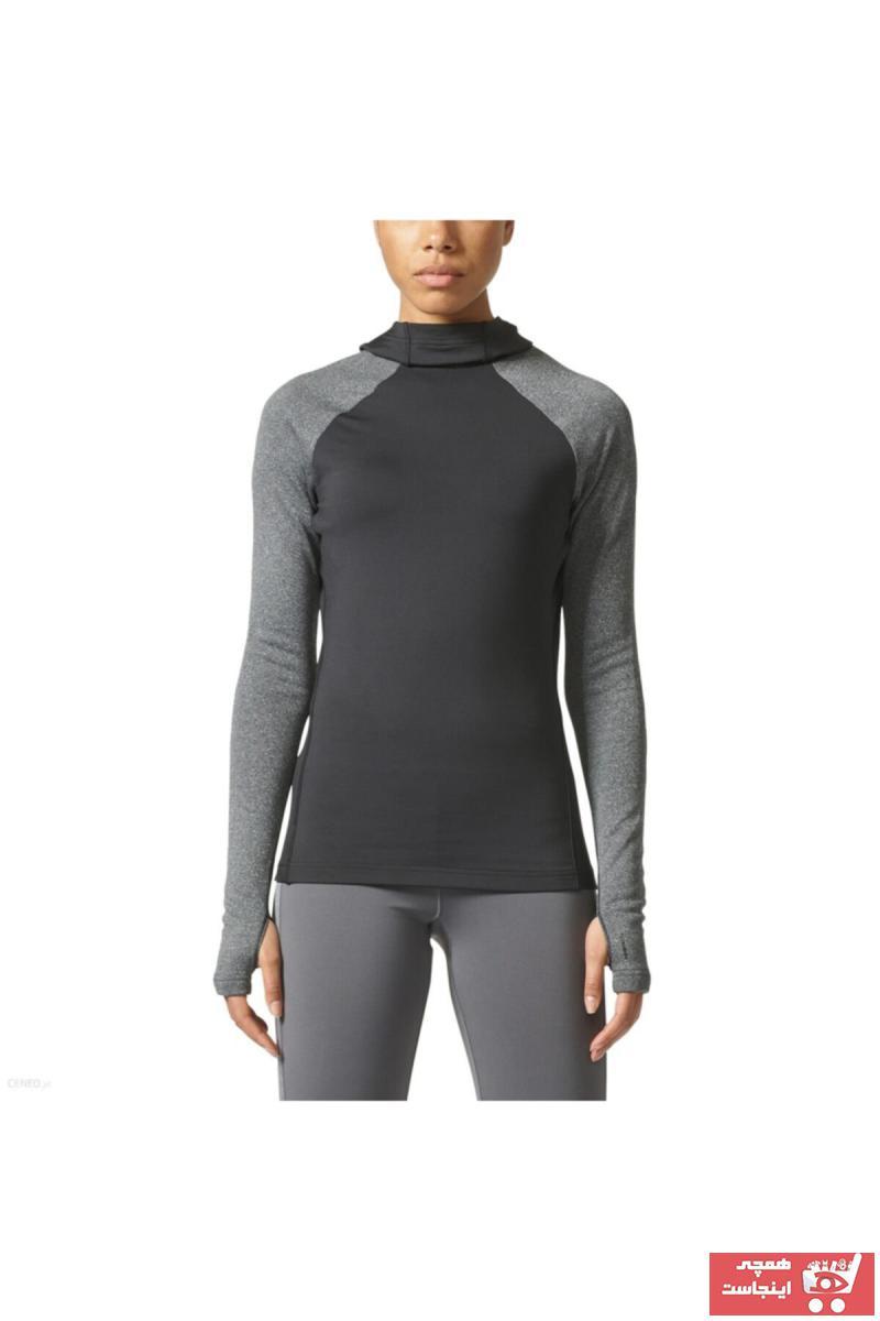 خرید پستی گرمکن ورزشی شیک زنانه برند آدیداس رنگ مشکی کد ty106368655