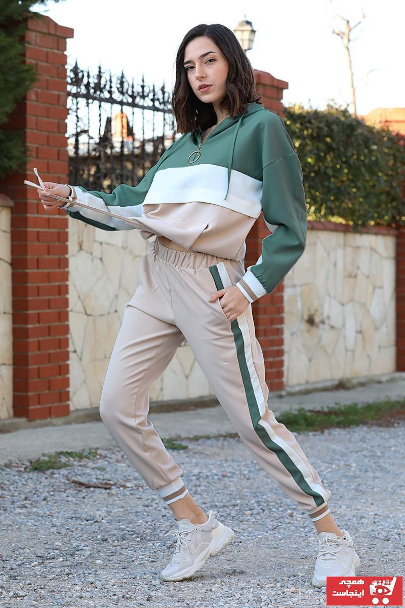 خرید اینترنتی ست ورزشی بلند برند VAPUR TEKSTİL رنگ سبز کد ty106511990