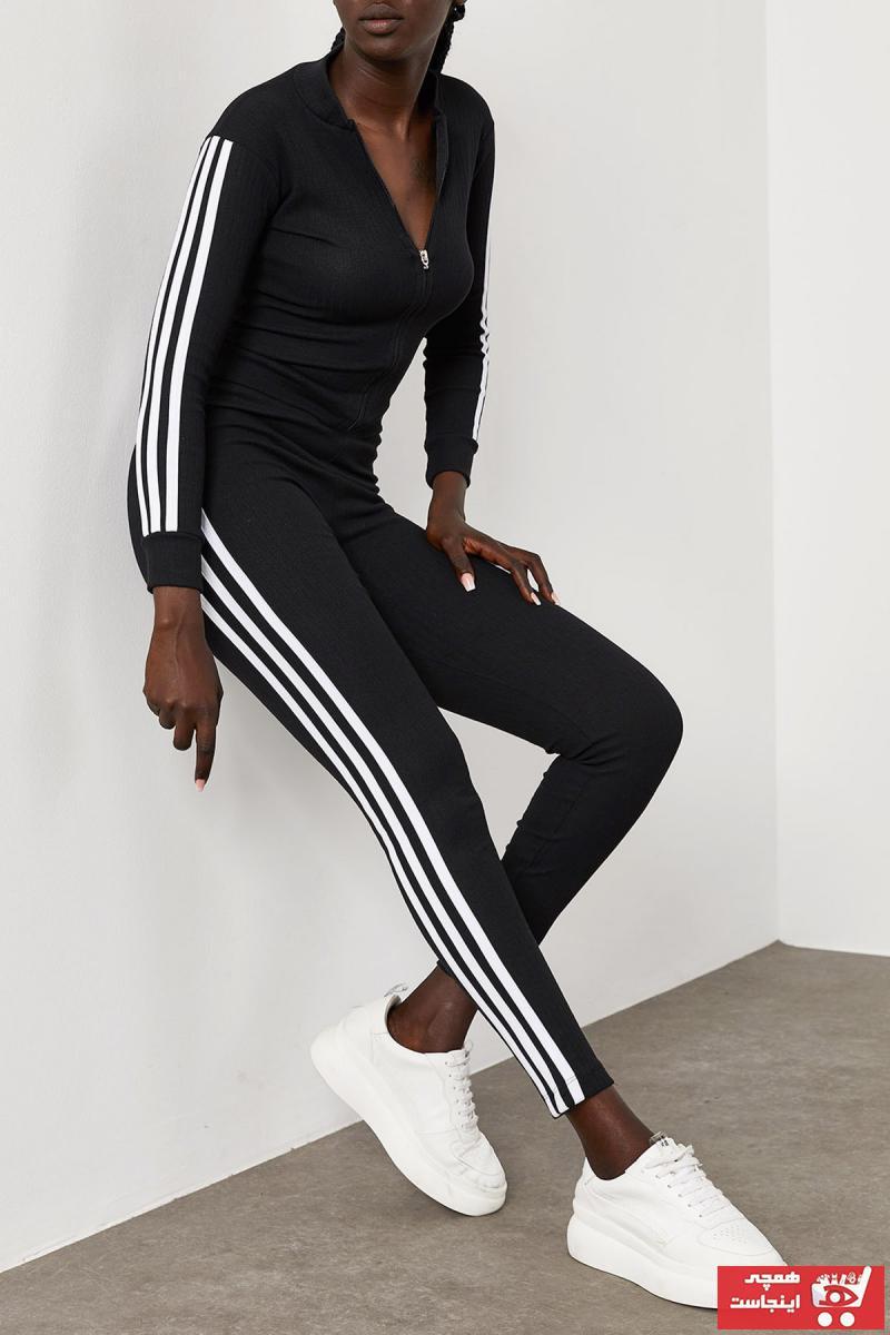 خرید اینترنتی ست ورزشی خاص زنانه برند XENA رنگ مشکی کد ty108601485