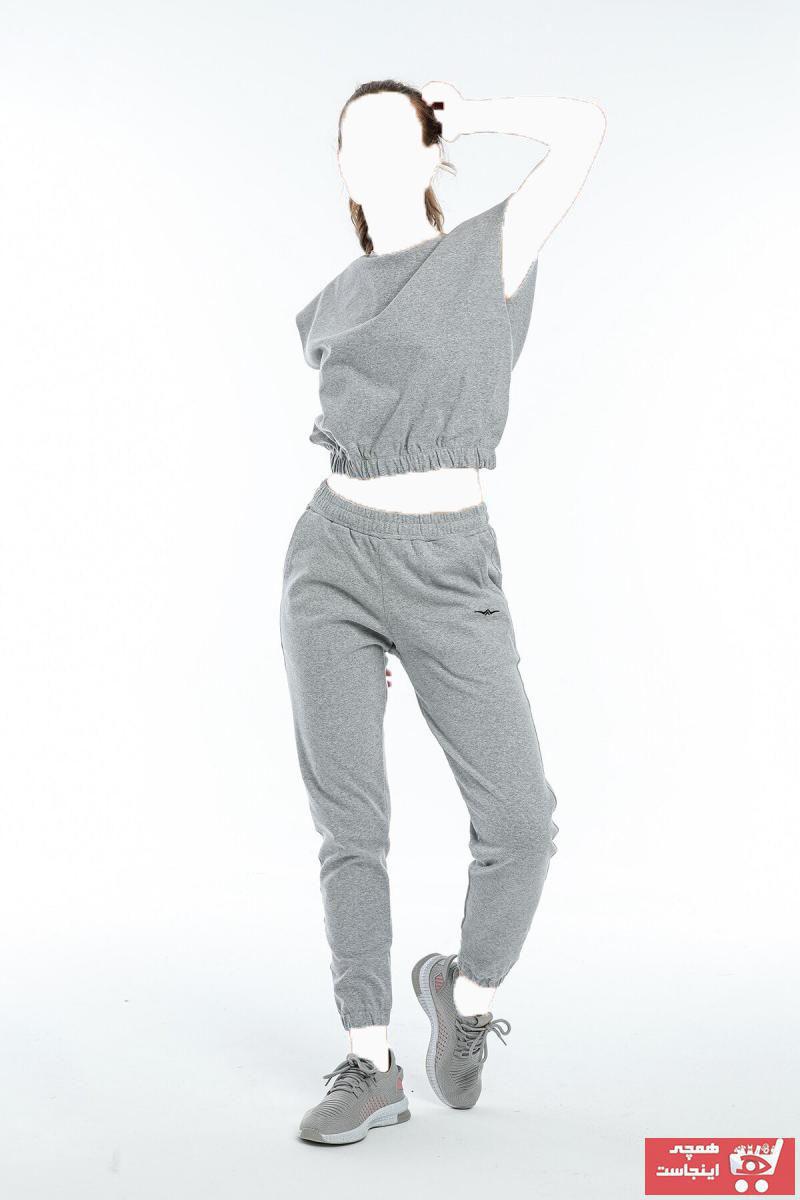 خرید مدل ست ورزشی زنانه برند BESSA رنگ نقره ای کد ty118320615