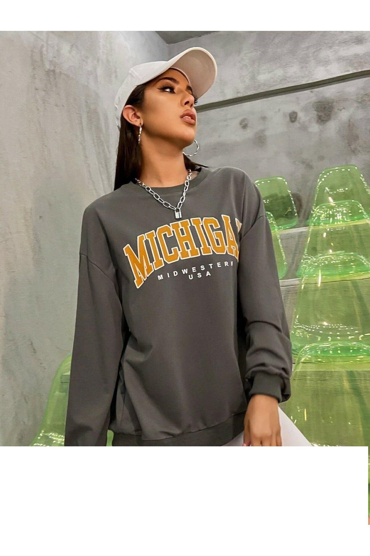 خرید مدل سویشرت زنانه برند MODAGEN رنگ نقره ای کد ty120277453