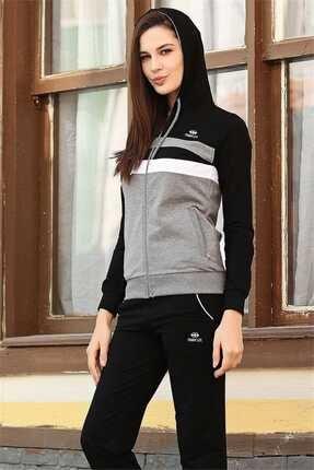 فروش ست ورزشی زنانه نخی مارک تامی لایف رنگ نقره ای کد ty2899048