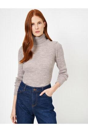 فروش پلیور زنانه نخی برند کوتون رنگ قهوه ای کد ty32874952