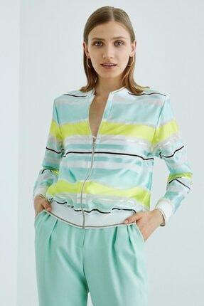 خرید نقدی کاپشن زنانه فروشگاه اینترنتی برند Perspective رنگ فیروزه ای ty36784822