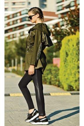 سویشرت خاص زنانه برند GALLİPOLİ رنگ خاکی کد ty3757172