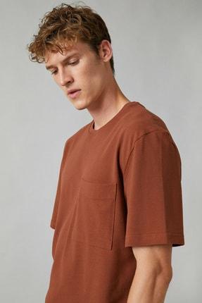 سویشرت زنانه ارزان قیمت برند کوتون رنگ آجری ty49949915