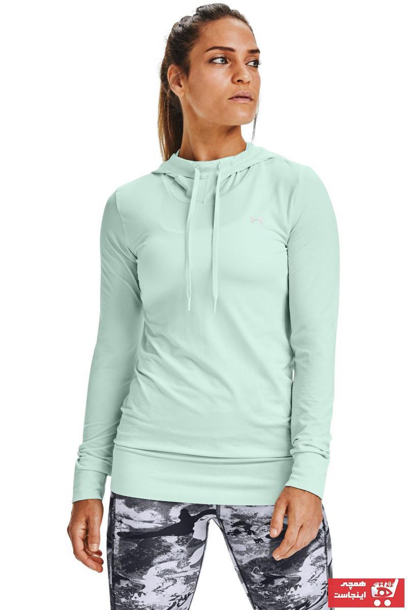 خرید ارزان گرمکن ورزشی زنانه پیاده روی برند Under Armour رنگ سبز کد ty51655068