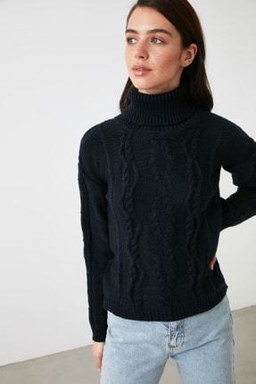 پلیور زنانه فروش برند ترندیول میلا ترک رنگ لاجوردی کد ty54315541