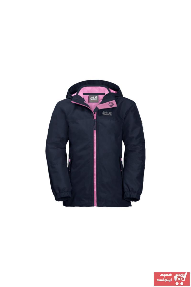 خرید اینترنتی کاپشن ورزشی زنانه برند Jack Wolfskin رنگ لاجوردی کد ty63806048