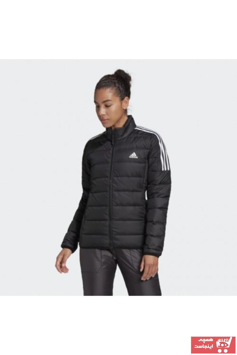 خرید اینترنتی کاپشن ورزشی خاص زنانه برند adidas رنگ مشکی کد ty65705099