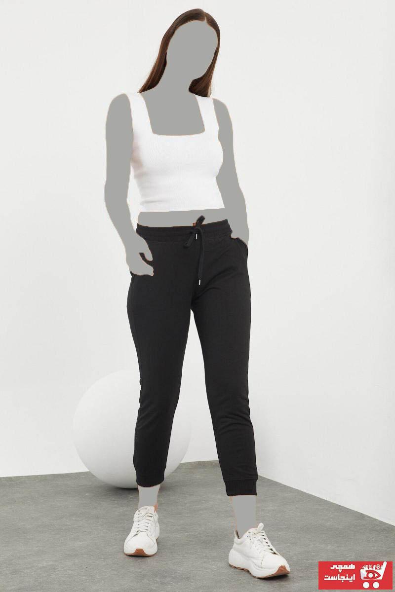 اسلش زنانه ست برند Viking Jeans رنگ مشکی کد ty70430215