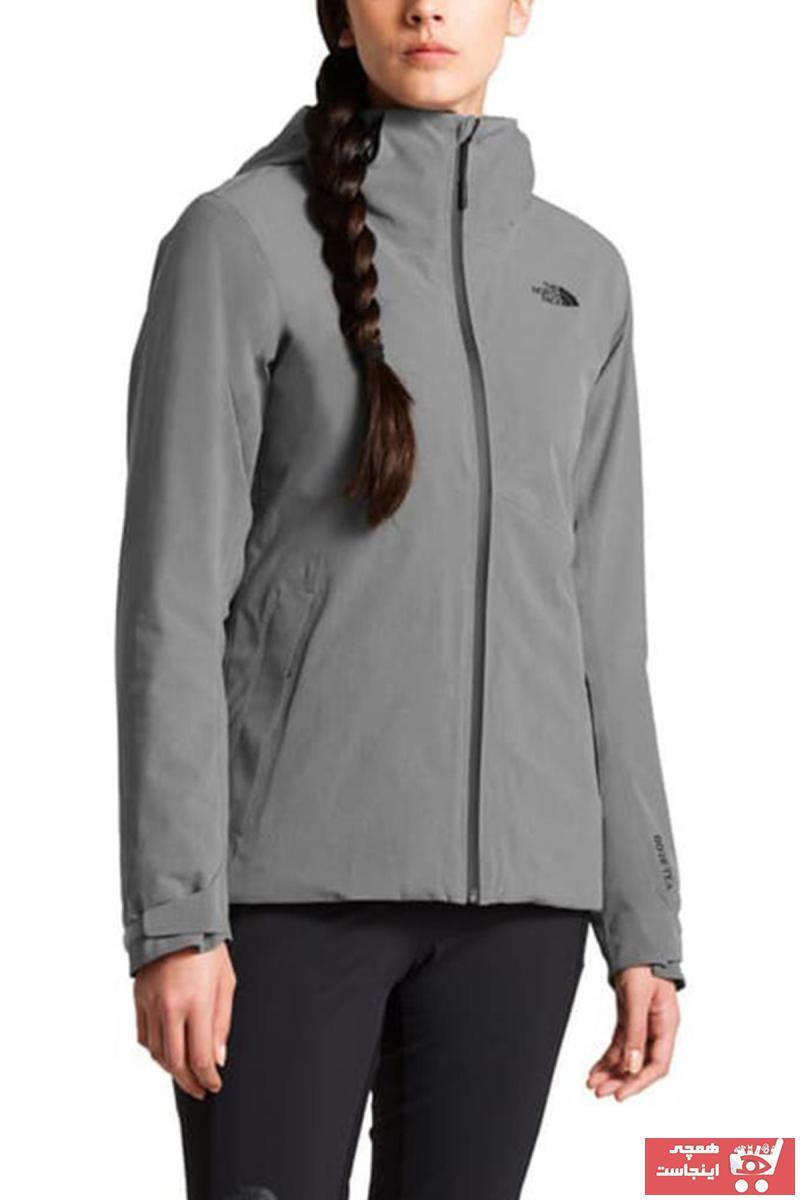 سفارش کاپشن ورزشی ارزان زنانه برند The North Face رنگ نقره ای کد ty72237013
