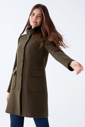 پالتو زنانه مدل برند Chima رنگ خاکی کد ty75213942