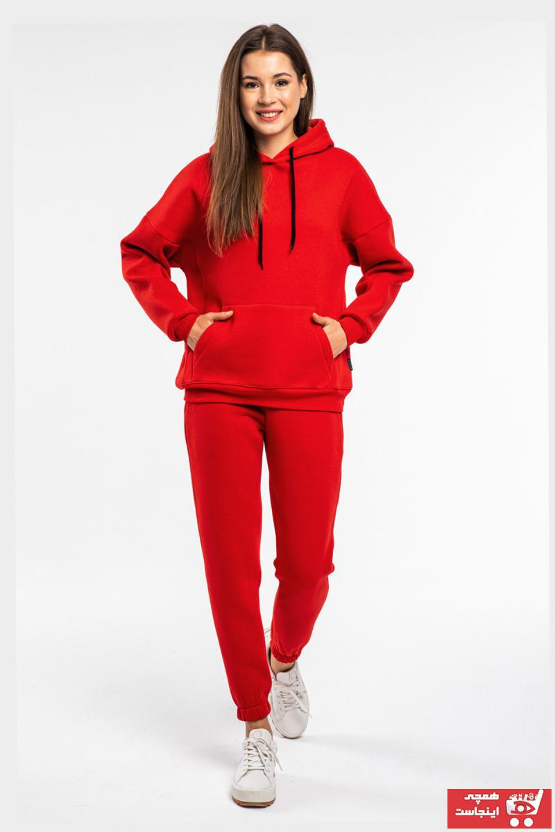 فروش انلاین ست ورزشی زنانه ارزان برند CAYA رنگ قرمز ty75477544