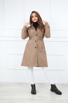 فروش پستی ست کاپشن زنانه برند S&V TEKSTİL رنگ قهوه ای کد ty80802633