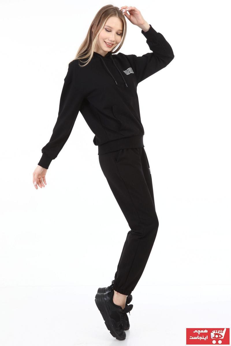 خرید نقدی گرمکن ورزشی زنانه برند COMPLEX رنگ مشکی کد ty81101291