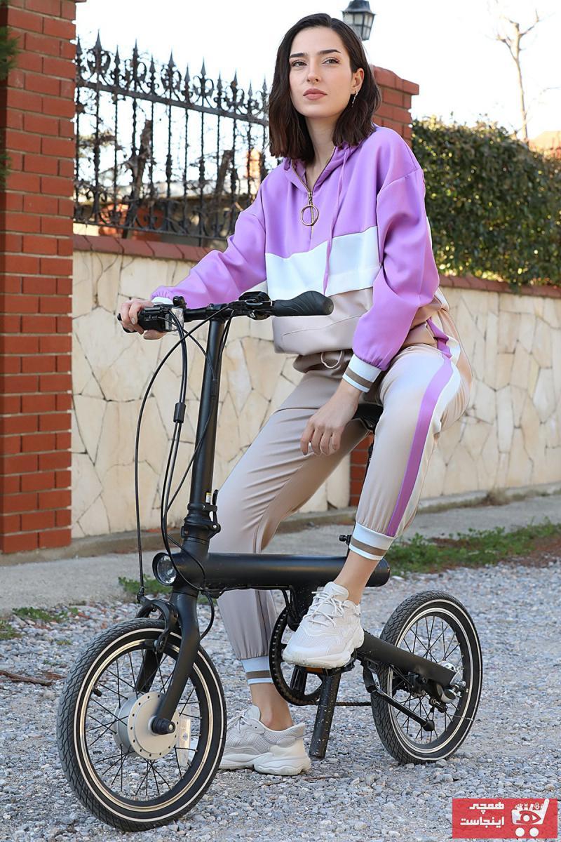 فروشگاه ست ورزشی زنانه سال 1400 برند VAPUR TEKSTİL رنگ بنفش کد ty88434393