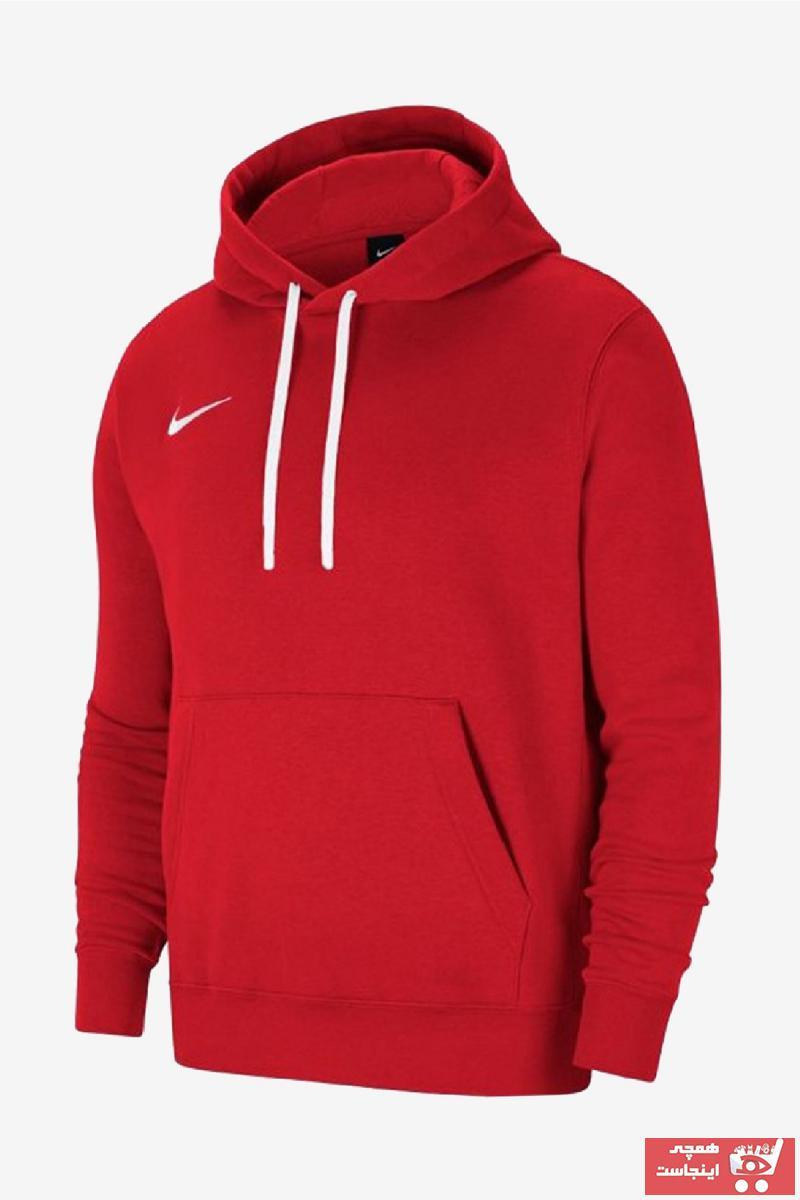 فروش پستی ست گرمکن ورزشی زنانه برند Nike اورجینال رنگ قرمز ty88867959