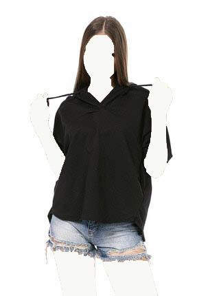 سویشرت زنانه ساده برند cemo رنگ مشکی کد ty94207352
