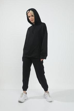 حرید اینترنتی سویشرت زنانه ارزان برند Grenj Fashion رنگ مشکی کد ty94576885