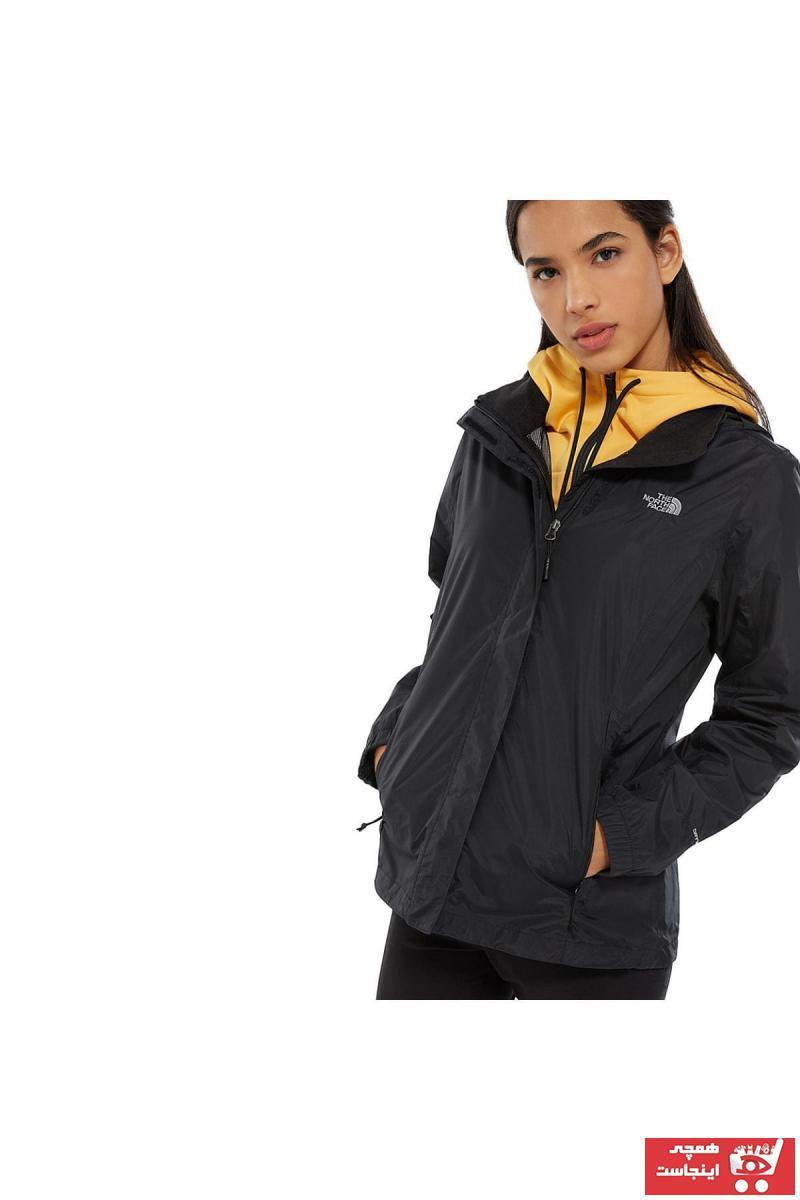 خرید نقدی کاپشن ورزشی زنانه فروشگاه اینترنتی برند نورث فیس رنگ مشکی کد ty95705292