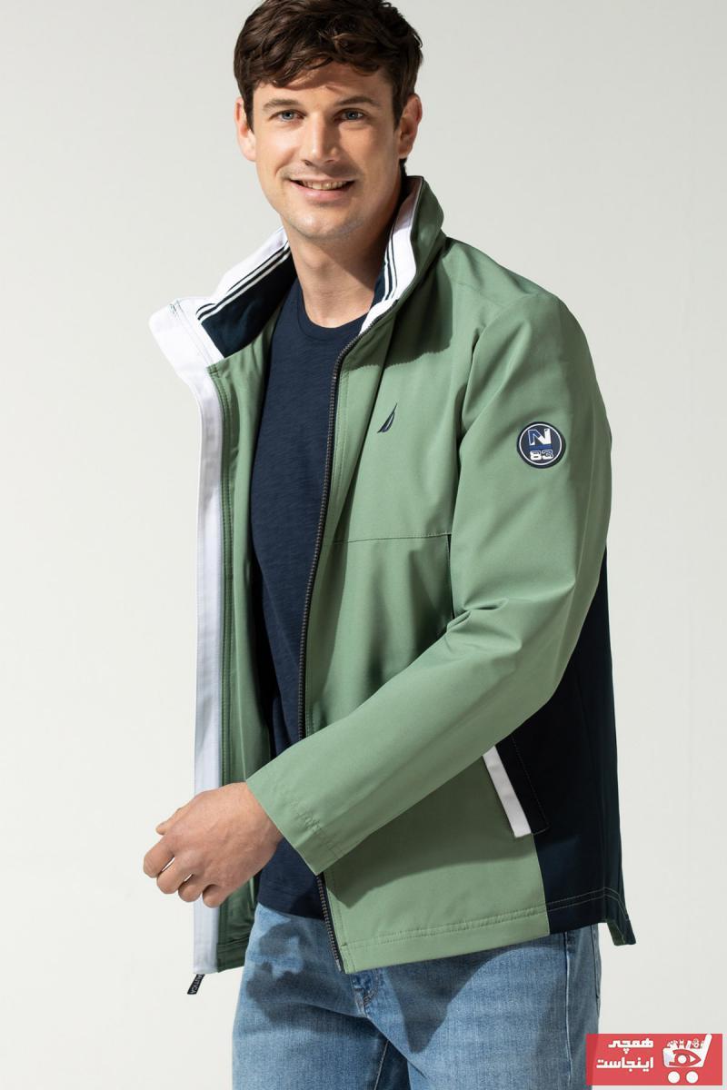 فروش پستی بارانی زنانه اصل جدید برند Nautica رنگ سبز کد ty101096289