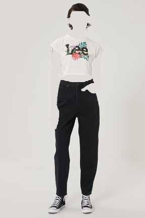 شلوار جین زنانه ارزان برند Lee رنگ مشکی کد ty101211573