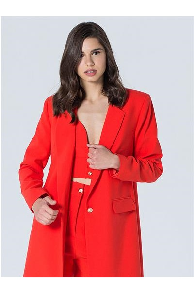 خرید ژاکت 2020 زنانه برند LooksGreat رنگ قرمز ty108179922