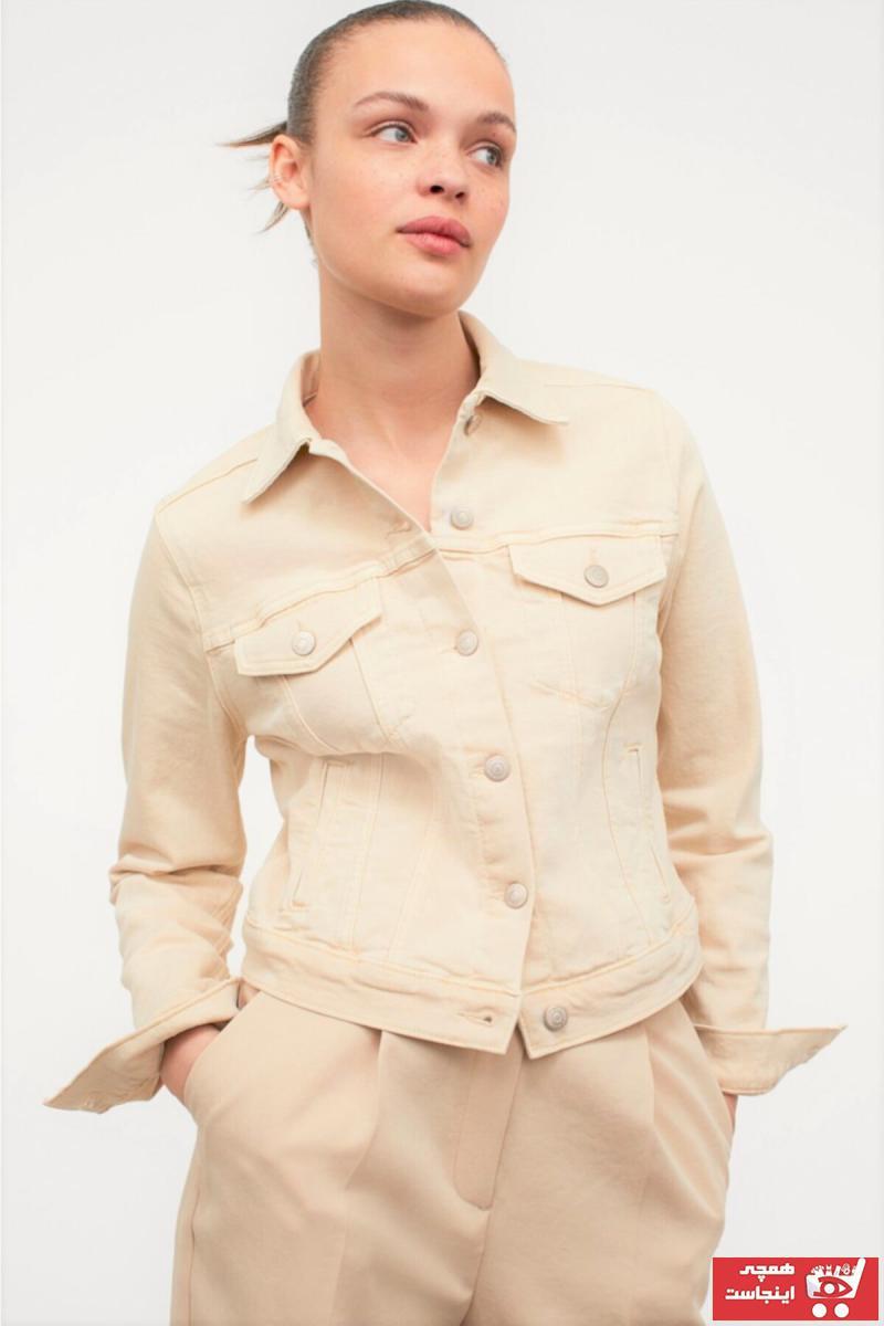 ژاکت زنانه فروشگاه اینترنتی برند RUGBA رنگ بژ کد ty109651407