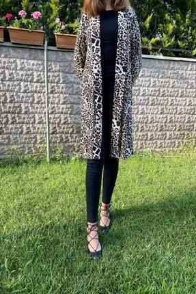 ژاکت بافتی زنانه جدید برند The Leopar رنگ قهوه ای کد ty116466326