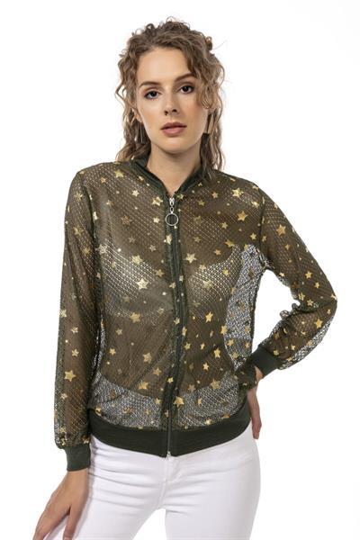 خرید پستی ژاکت بافتی زیبا برند Modagusto رنگ خاکی کد ty117668946