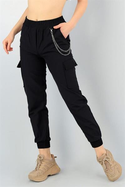 خرید انلاین شلوار زنانه ترکیه برند GOYGOY BUTİK رنگ مشکی کد ty117690064