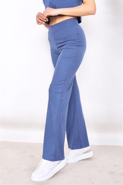 شلوار زنانه ست برند FIT & LUXURY رنگ آبی کد ty119760716