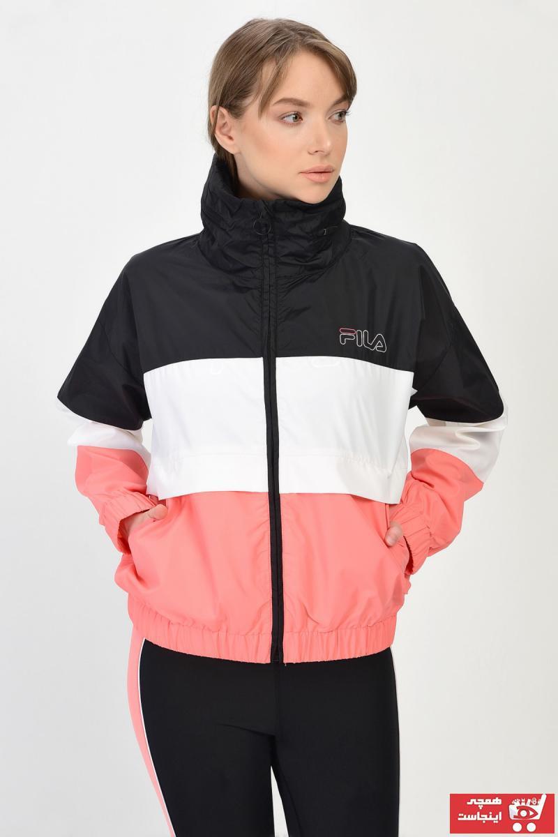 خرید گرمکن ورزشی زنانه شیک ارزان برند Fila رنگ مشکی کد ty39305831