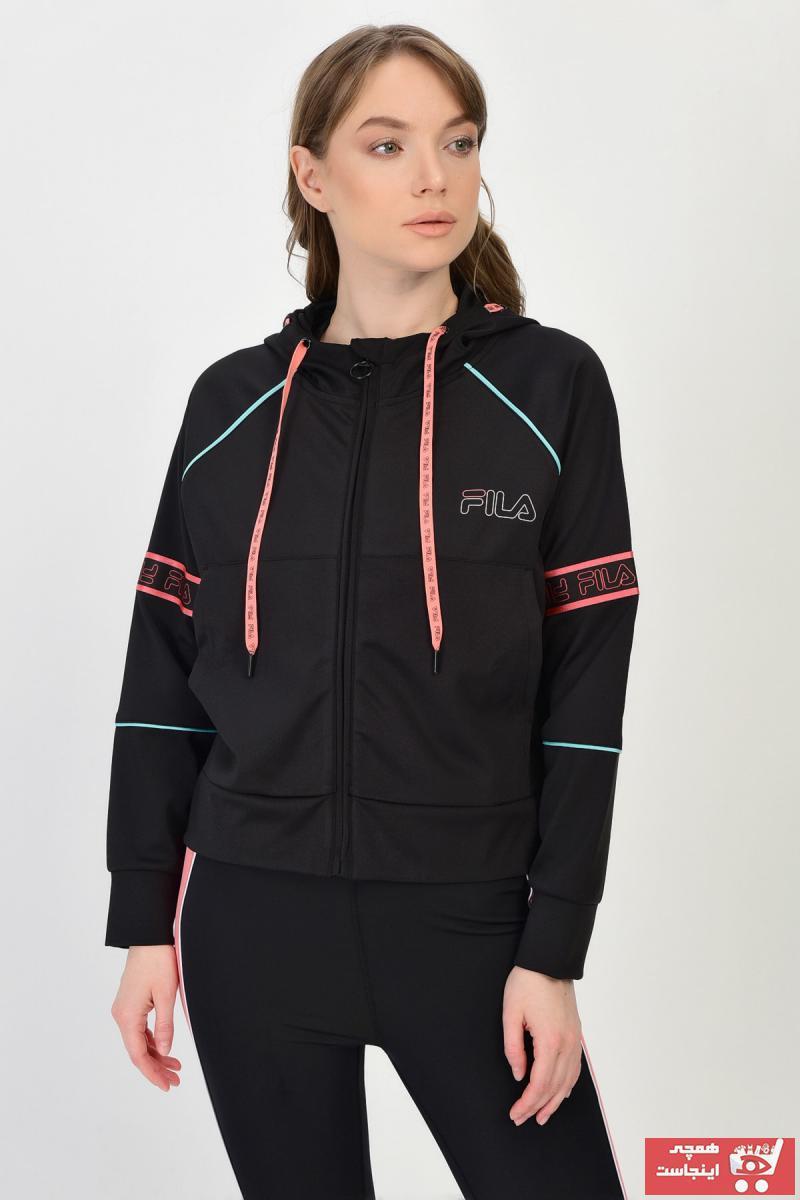 فروشگاه گرمکن ورزشی مدل جدید برند Fila رنگ مشکی کد ty39305866