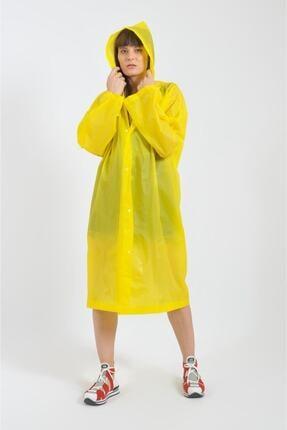 قیمت بارانی زنانه برند No7 İstanbul رنگ زرد ty43175420