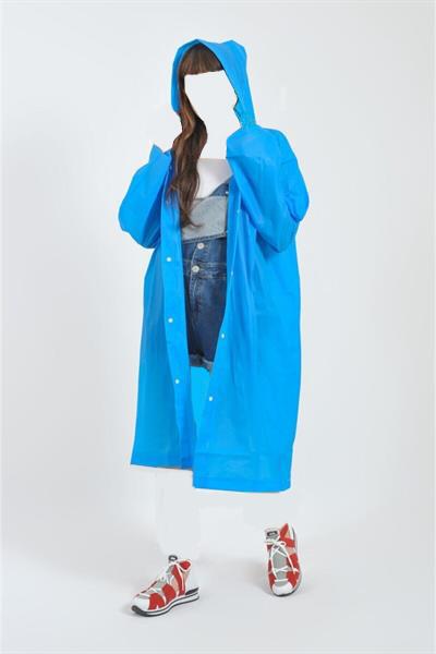 فروش اینترنتی بارانی زنانه با قیمت برند No7 İstanbul رنگ آبی کد ty43540983