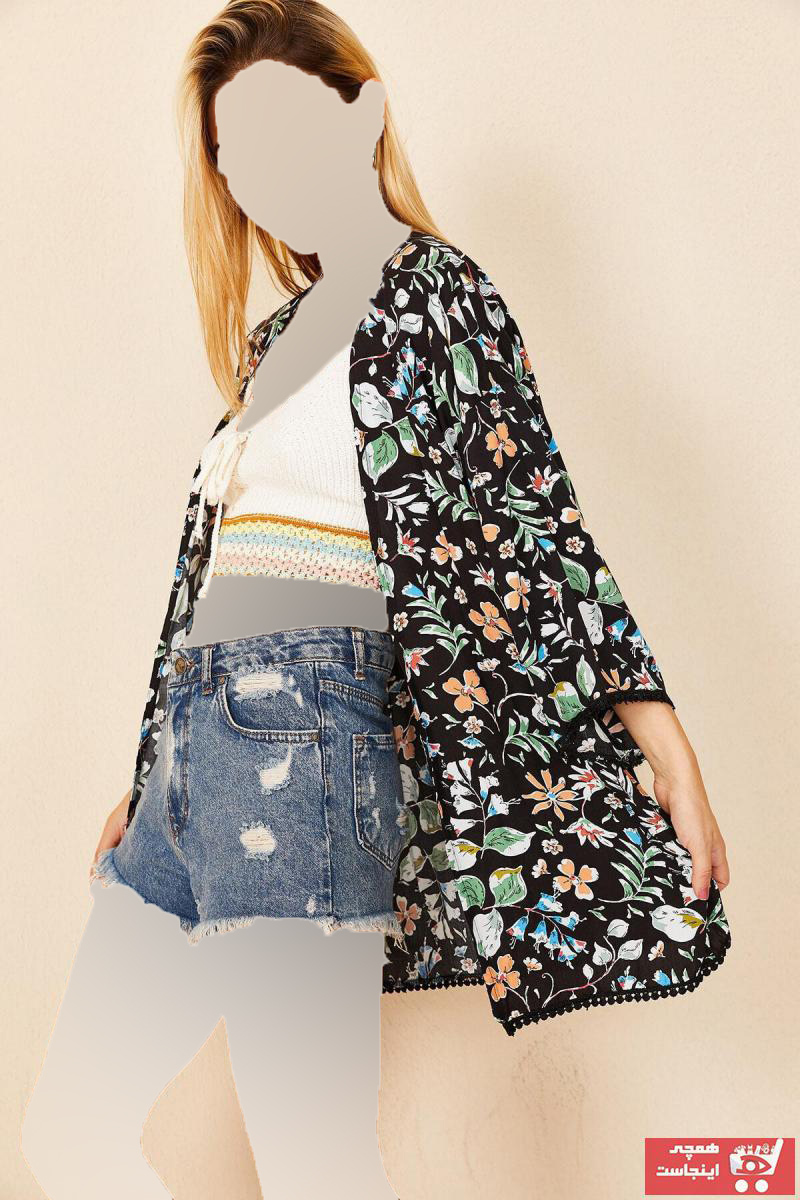 سفارش ژاکت بافتی زنانه ارزان برند Morpile رنگ مشکی کد ty46941732